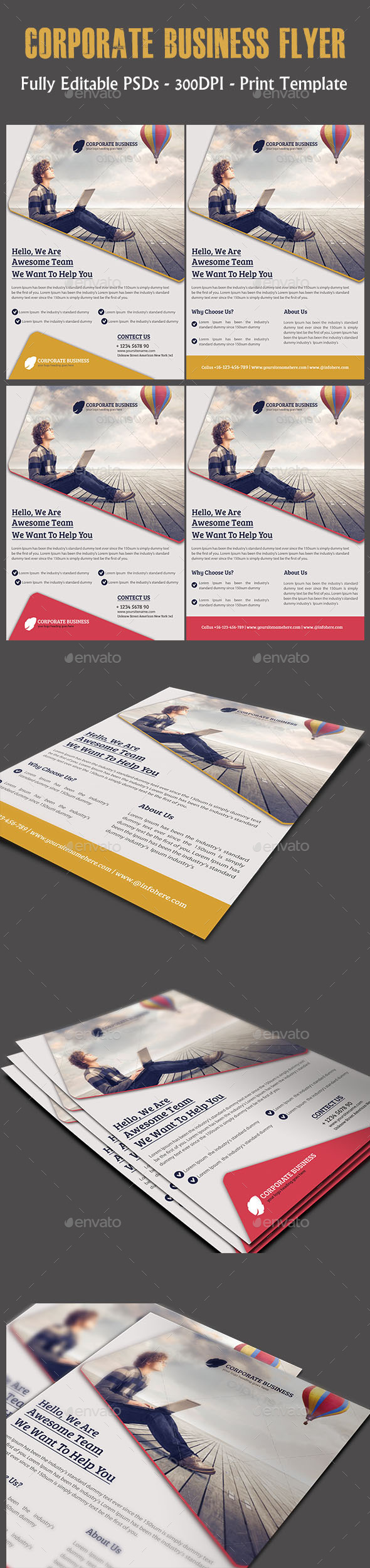 GraphicRiver Corporate Business Flyer 11920804