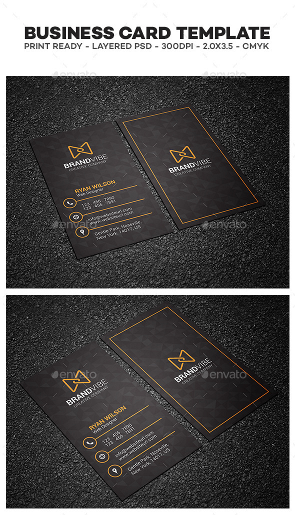 GraphicRiver Creative Corporate Business Card 11921194