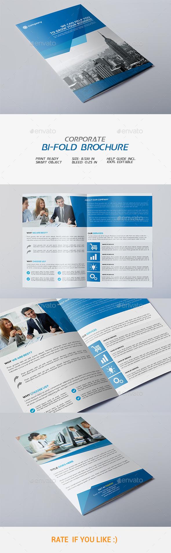 GraphicRiver Corporate Bi-fold Brochure 11921215