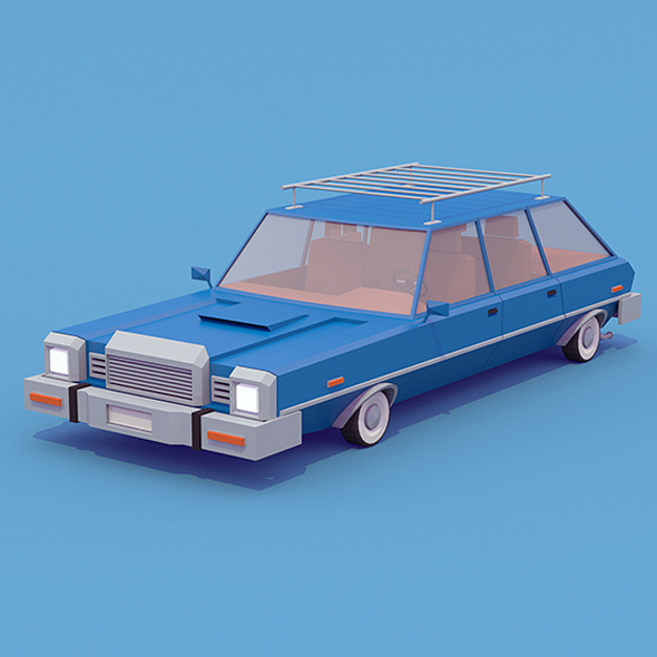 Station Wagon - 3DOcean Item for Sale
