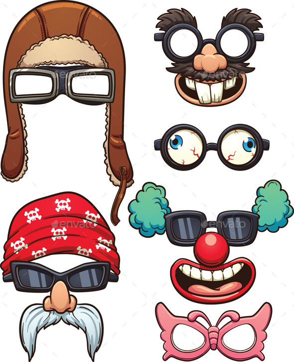 GraphicRiver Funny Glasses 11921244