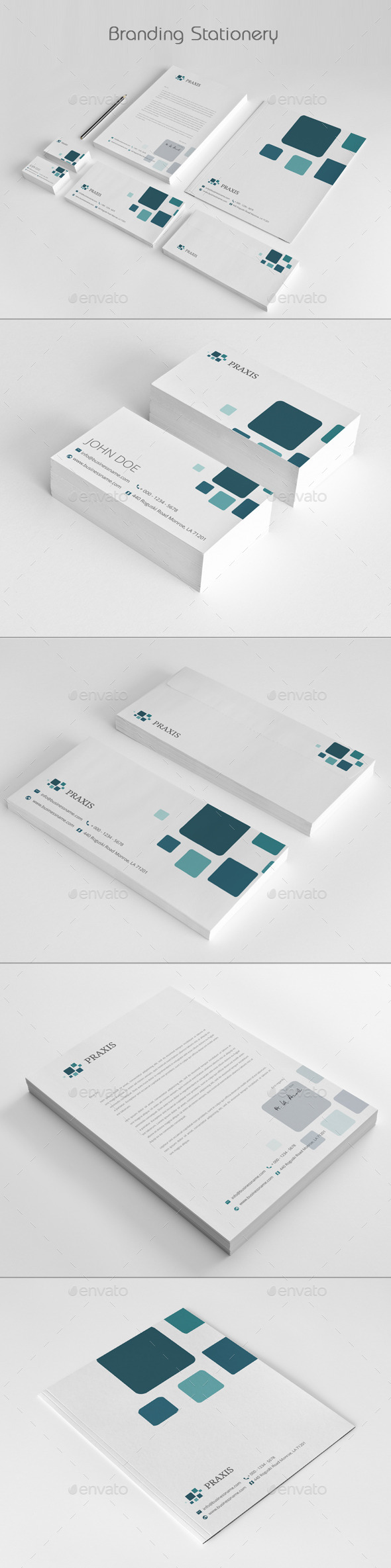 GraphicRiver Branding Stationery 11921488