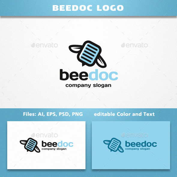 GraphicRiver BeeDoc Logo 11921490