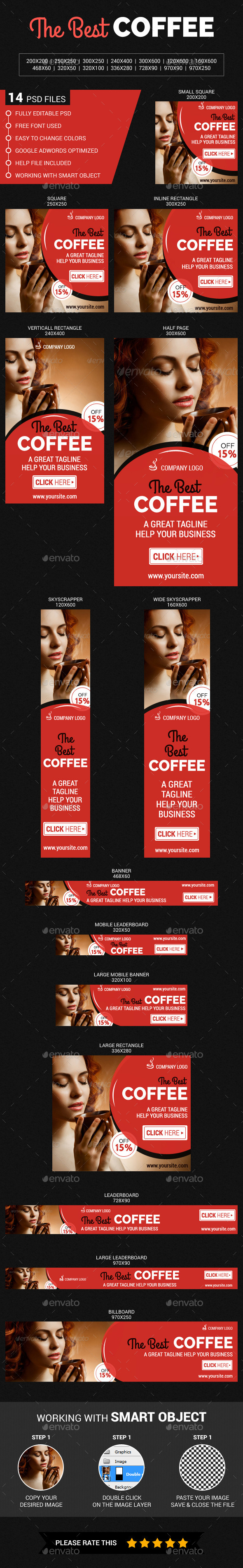 GraphicRiver The Best Coffee 11921501