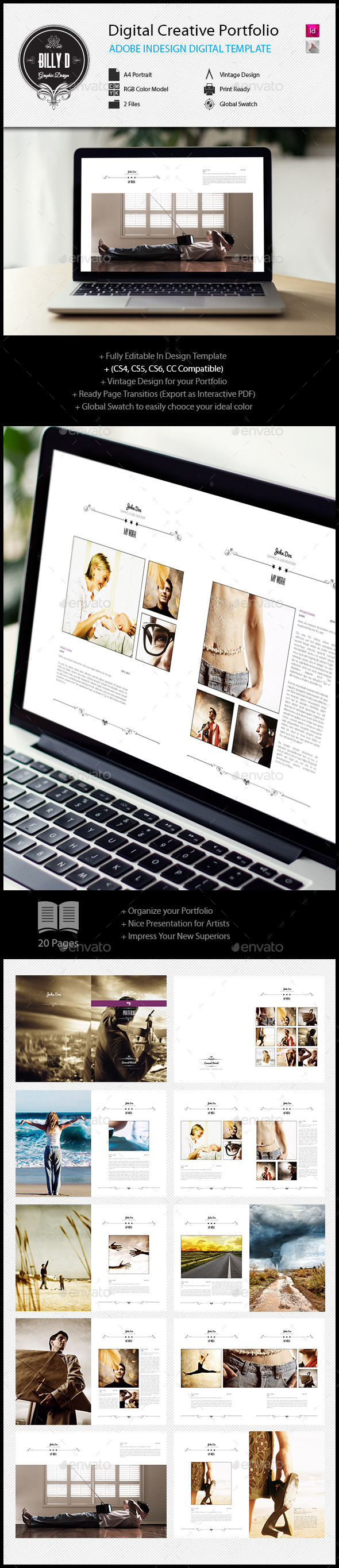 GraphicRiver Digital Creative Portfolio Template 11912088