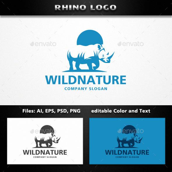 GraphicRiver Rhino Logo 11922231