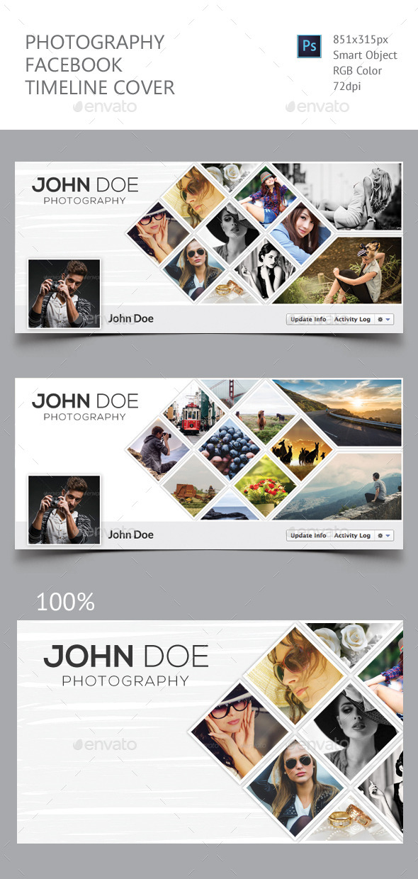 GraphicRiver Photography Facebook Timeline Cover 11922338