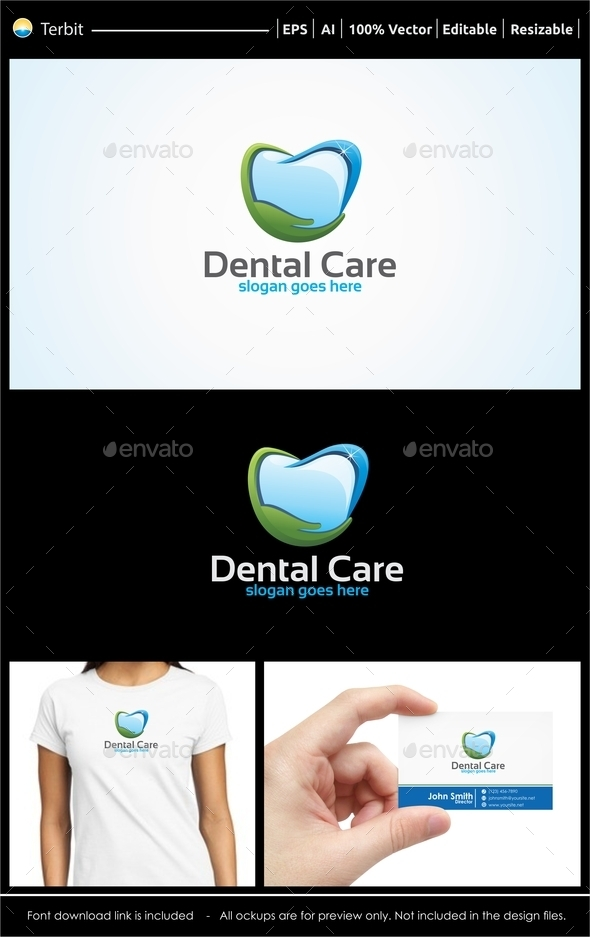 GraphicRiver Dental Care Logo 11922635