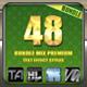 48 Bundle Mix Premium Text Effect Styles Vol 1 - GraphicRiver Item for Sale