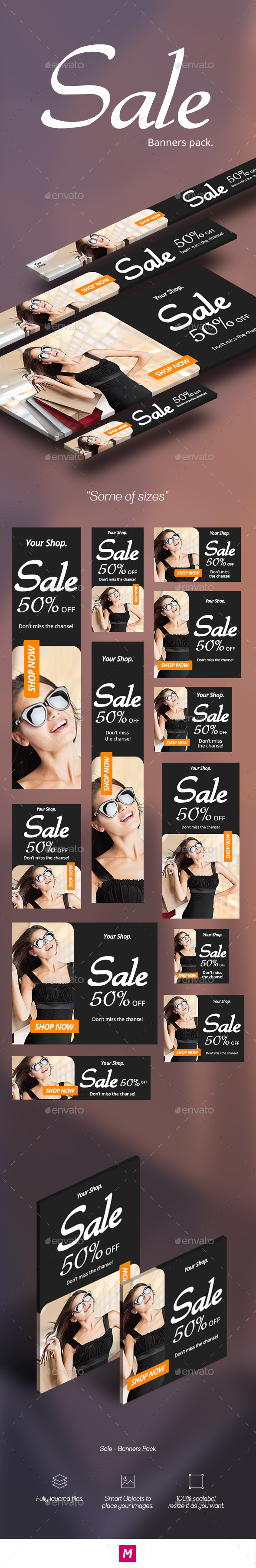 GraphicRiver Sale Banners Pack 11922985