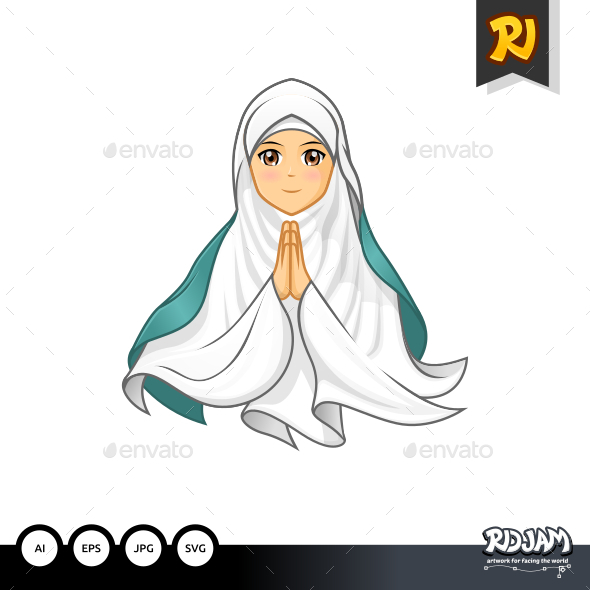 GraphicRiver Muslim Woman 2 11923066