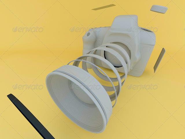3DOcean Highly detailed Canon SLR 145985