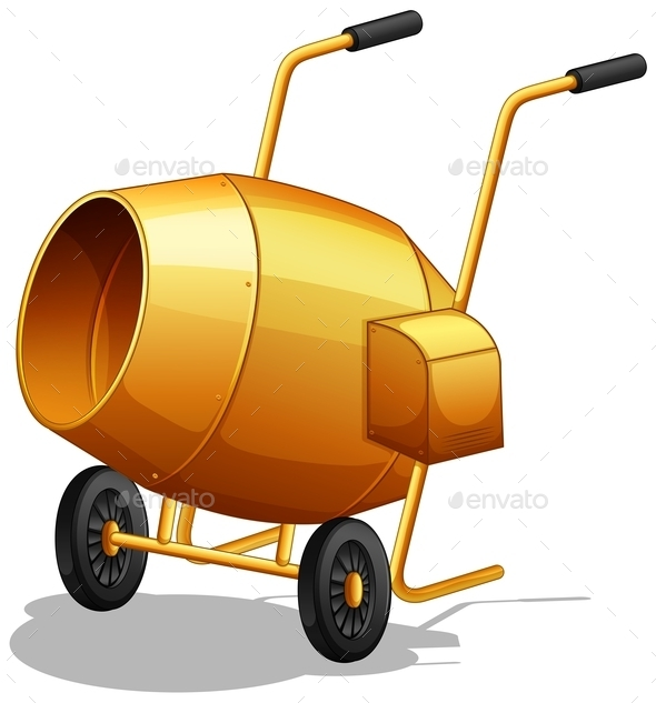 GraphicRiver Cement Mixer 11923619