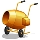 Cement Mixer - GraphicRiver Item for Sale