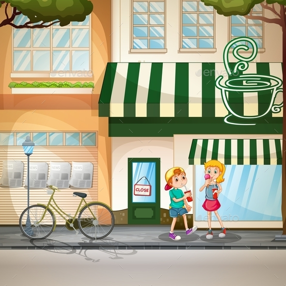 GraphicRiver Children and Shops 11924596