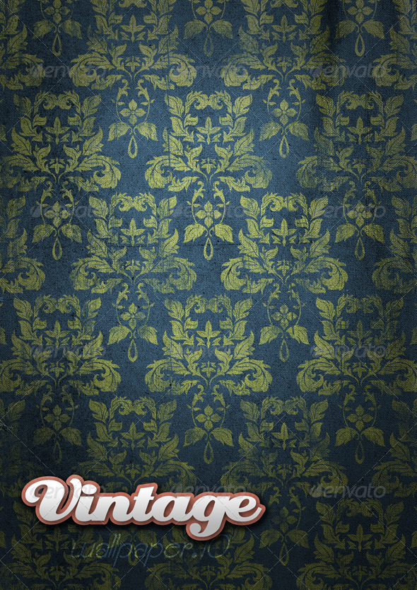 GraphicRiver Vintage Wallpaper 09 146001