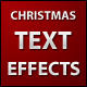 Christmas Text Effects - ActiveDen Item for Sale