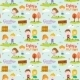 Autumn Pattern With Happy Smiling Kids - GraphicRiver Item for Sale