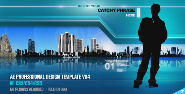 After Effects Project - VideoHive AE CS3 Professional Design Template V04 6 ...