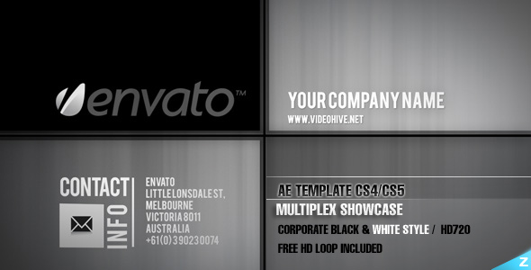 After Effects Project - VideoHive Multiplex Showcase 120891