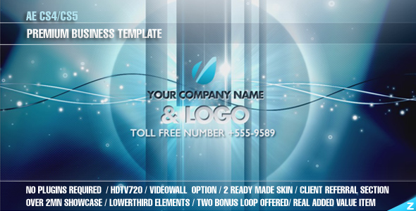 After Effects Project - VideoHive AE CS4 Premium Business Template 138418