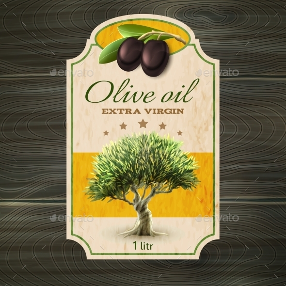 GraphicRiver OLive Oil Label Print 11925780