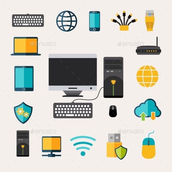 GraphicRiver Network Gadget Set 11925824