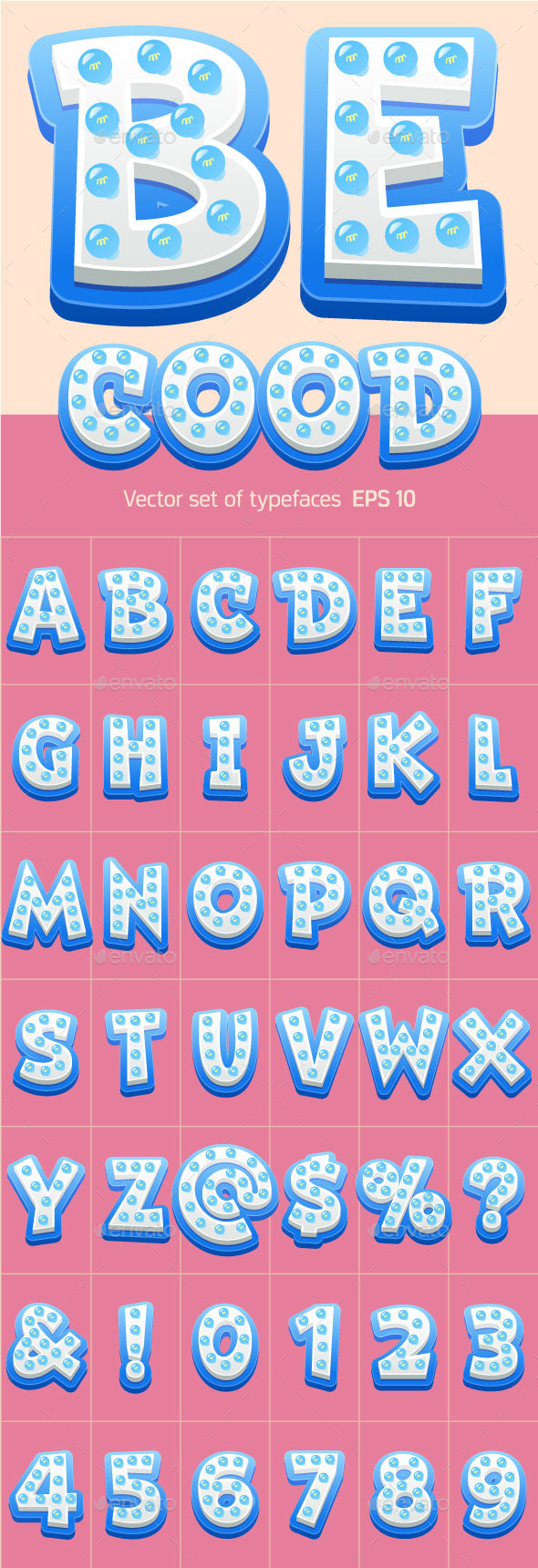 GraphicRiver Vector Lamp Alphabet 11925840