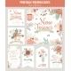 Vintage Floral Save The Date Invitation - GraphicRiver Item for Sale