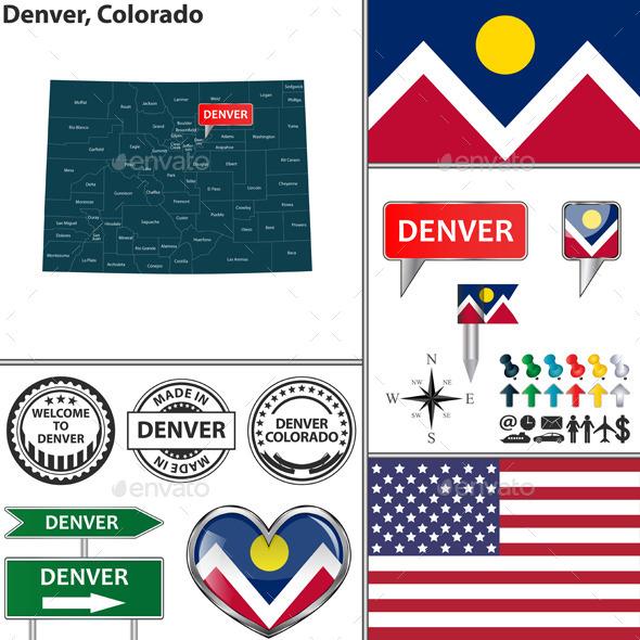 GraphicRiver Denver Colorado 11926006
