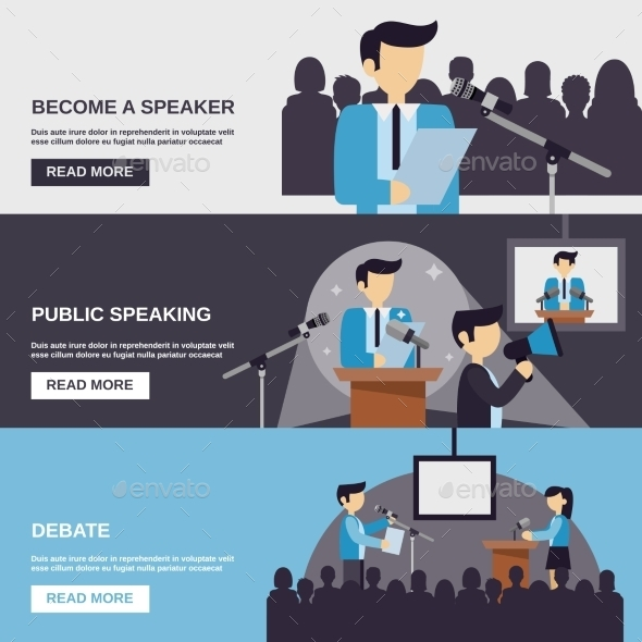 GraphicRiver Public Speaking Banner 11926007