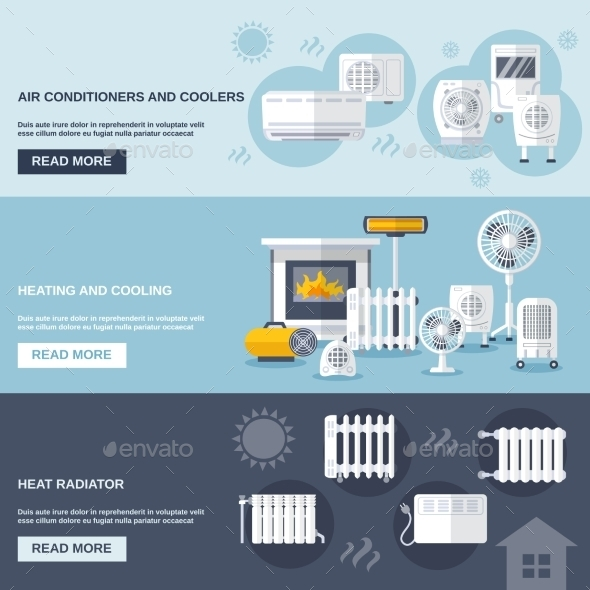 GraphicRiver Heating And Cooling Banner 11926008