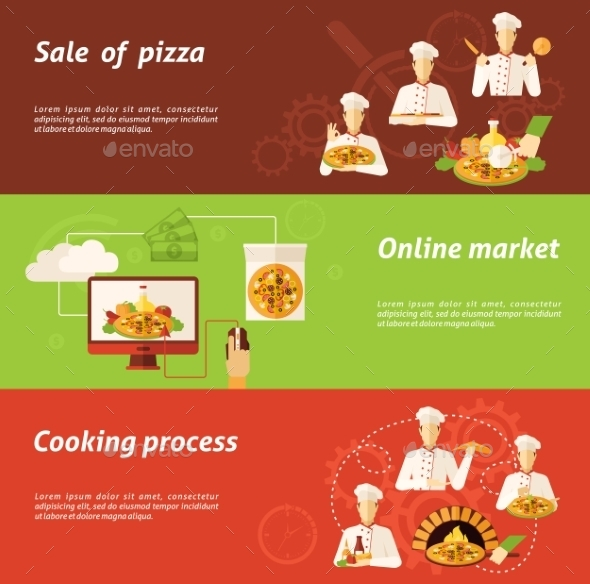 GraphicRiver Pizza Sale And Cooking Banner 11926040