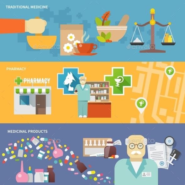GraphicRiver Pharmacist Banner Set 11926077