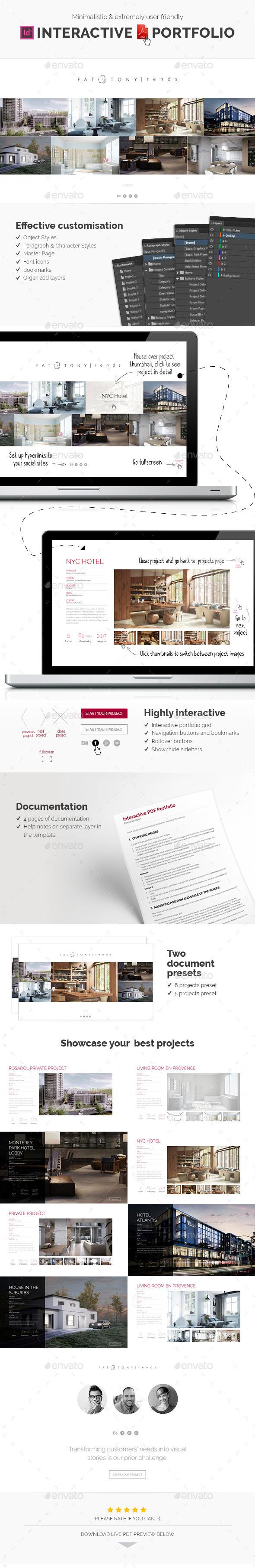 GraphicRiver Interactive PDF portfolio 11905094