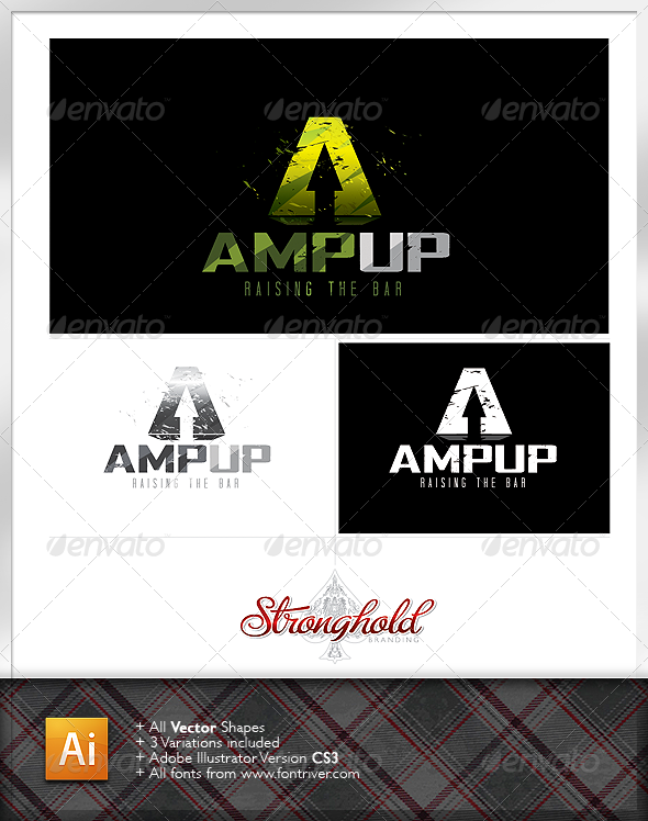 Amp Energy Logo - Letters Logo Templates