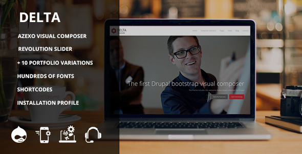 Image of Delta - Responsive multipurpose theme