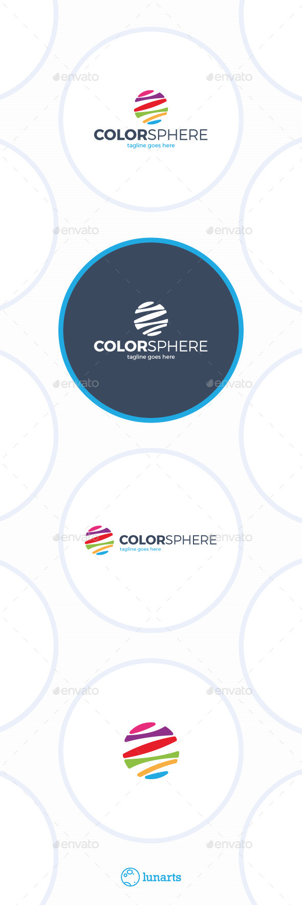 GraphicRiver Color Sphere Logo Colorful Circle 11926233