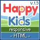 Happy Kids - Multipurpose HTML Template - ThemeForest Item for Sale
