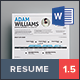 Infographic Resume Vol. 2 - GraphicRiver Item for Sale