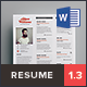 Simple Resume Vol.1 - GraphicRiver Item for Sale