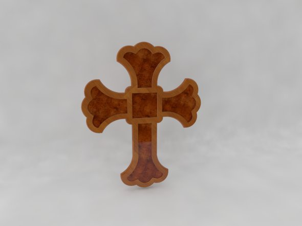 Wooden Cross - 3DOcean Item for Sale