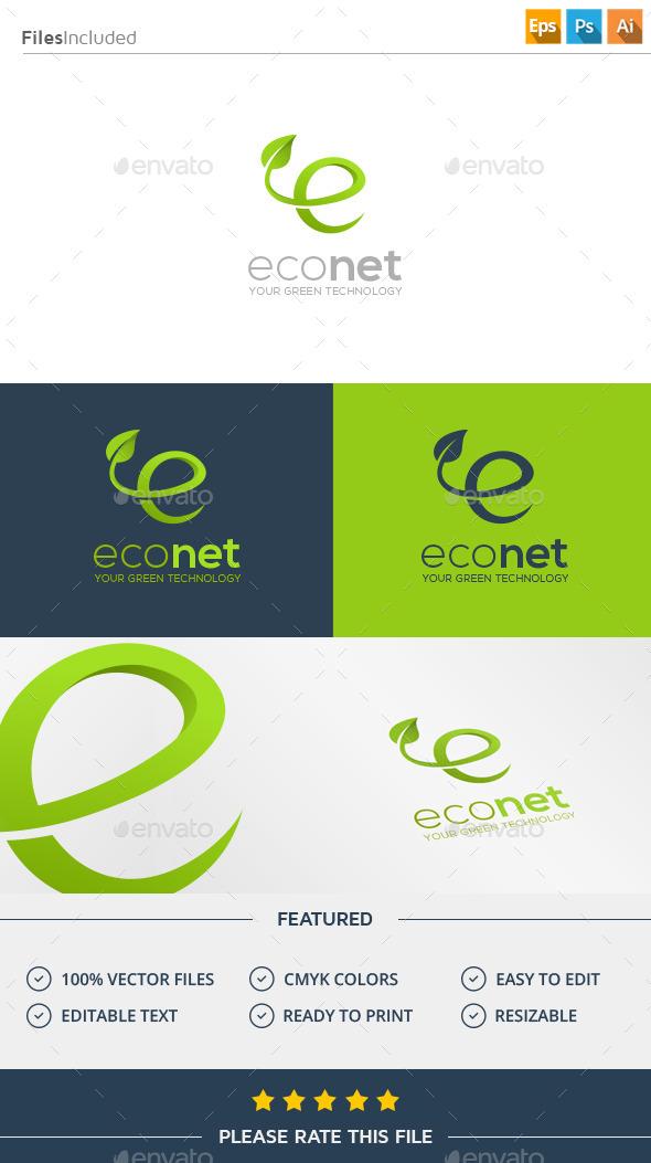 GraphicRiver Letter E Logo 11926519