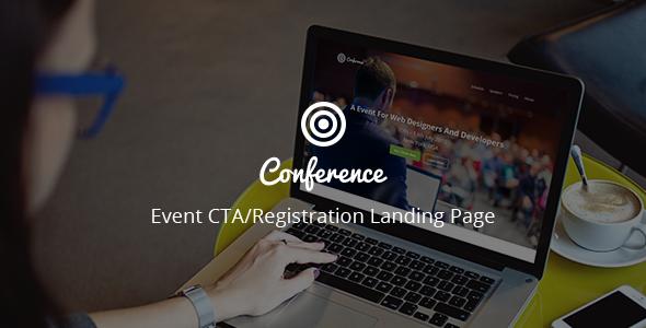 Download Conference - Event CTA/Registration Landing Page nulled download