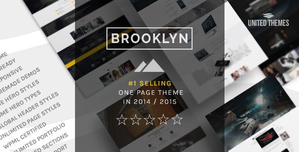 Brooklyn - Creative One Page Multi-Purpose Theme - Creative WordPress