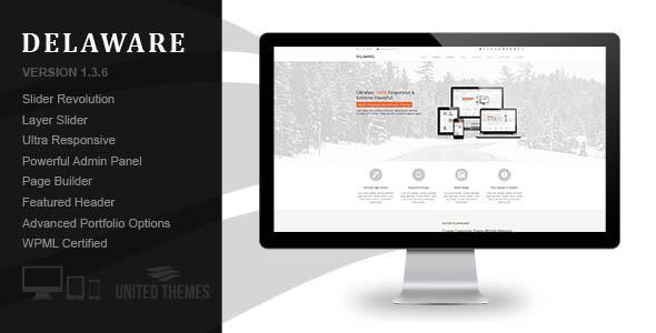 Delaware - Responsive Retina WordPress Theme - Corporate WordPress