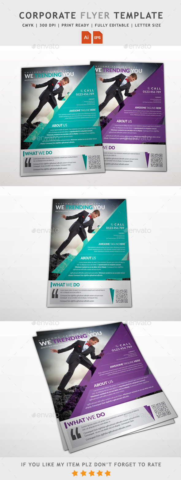 GraphicRiver Corporate Business Flyer 11927477