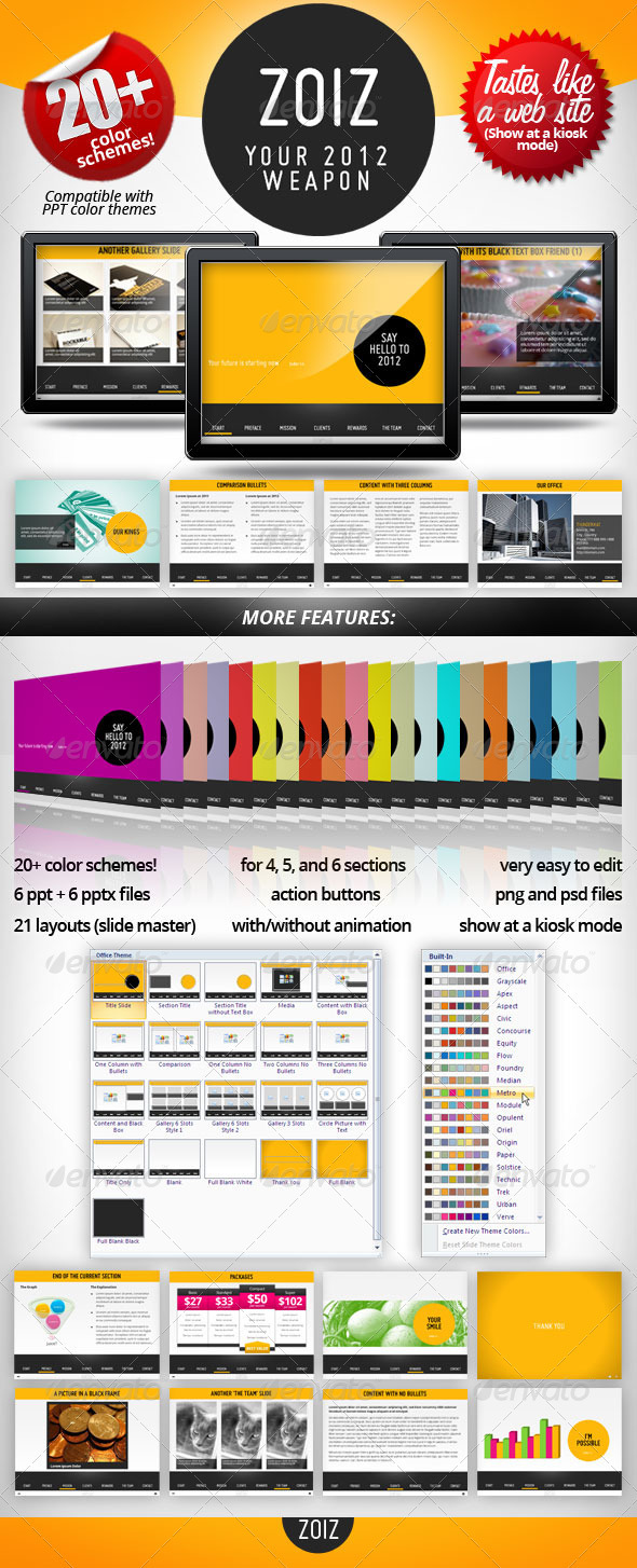 GraphicRiver ZOIZ Animated PowerPoint Template 1162494