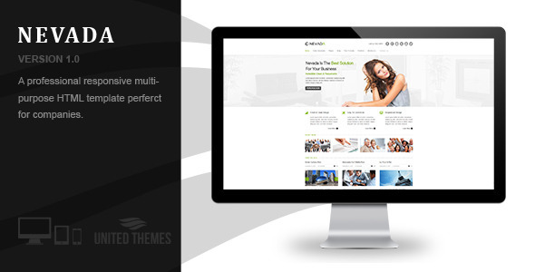 Nevada - Responsive HTML Template
