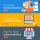 Shopping, E-Commerce and Pay Per Click - GraphicRiver Item for Sale